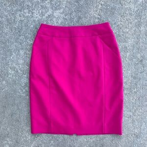 NWT H&M size 4 hot pink pencil skirt